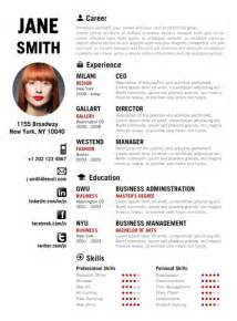 find the creative resume template on www cvfolio
