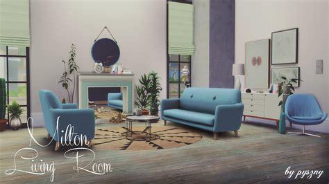 My Sims 4 Blog Milton Living Room Set By Pyszny
