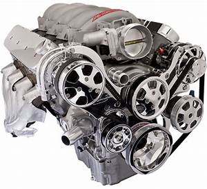 Billet Specialties Tru Trac Chevy Ls7 Front Engine Kit A  C