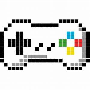 manette deco objets en pixel art 269 eur pixel art With comment faire des couleurs avec de la peinture 4 livre des couleurs mon cahier journal