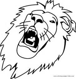 lion color page tiger color page plate coloring sheet printable - Coloring Pages Tigers Lions