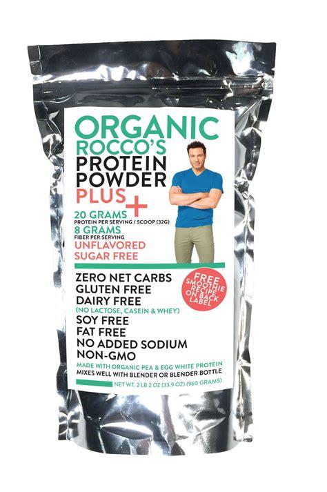 Amazon.com: Rocco DiSpirito Organic Protein Powder