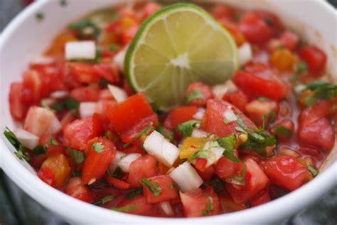 fresh tomato recipes fresh tomato salsa recipe dishmaps