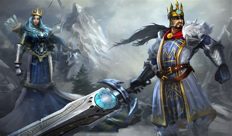the bureau gameplay image ashe and tryndamere together jpg league of