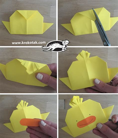 krokotak origami chicken