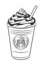 Starbucks Coloring Frappuccino Pages Coffee Draw Drawing Drawings Printable Drawingtutorials101 Step Frappucino Frap Colouring Sheets Clip Template Tutorials Cups Sketch sketch template