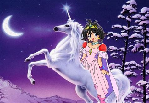 Anime Unicorn Wallpaper - anime slayers images amelia on an beautiful white unicorn
