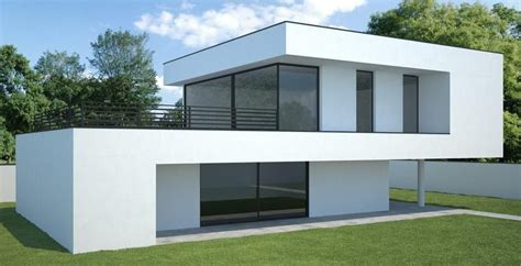 Moderne Einfamilienhäuser Bauhausstil by Moderner Bauhausstil Hausbau Moderne