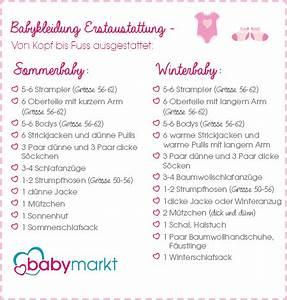 Checkliste Baby Erstausstattung Sommer : babys erstausstattung auf einem blick baby ~ Orissabook.com Haus und Dekorationen