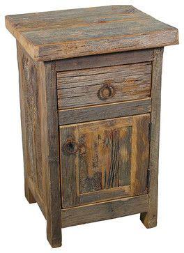 barn wood nightstand rustic nightstands  bedside tables   list rustic wood furniture