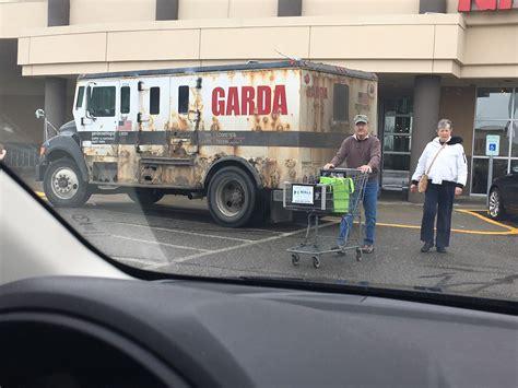 Garda Memes - this armored truck still in service wtf