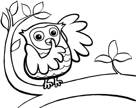 Coloring For Toddlers by Printable Owl Coloring Pages For 360coloringpages
