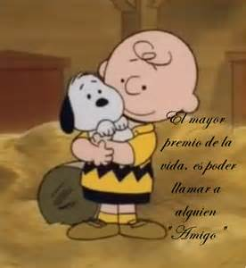 Best Friends Snoopy and Charlie Brown