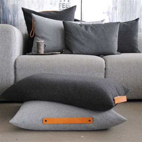 grey sofa cushion ideas ideas about nothing cotton canvas and leather handle