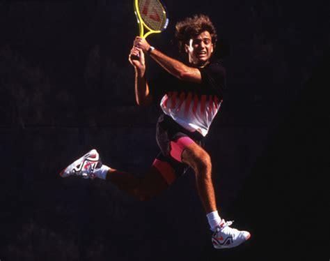 tennis icon andre agassi returns  nike  designed