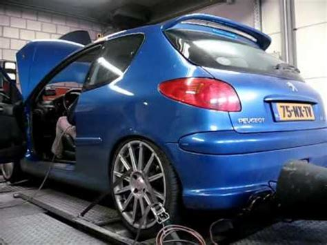peugeot  rc dyno computer remap  youtube