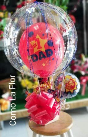 hot air balloon arrangement snack basket  el paso tx