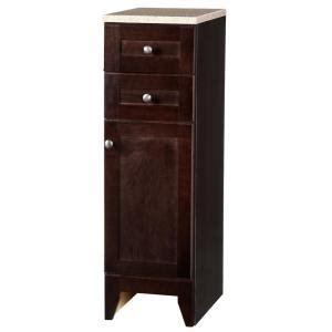 12 Inch Wide Bathroom Floor Cabinet by Glacier Bay Modular 12 1 2 In W Bathroom Storage Floor
