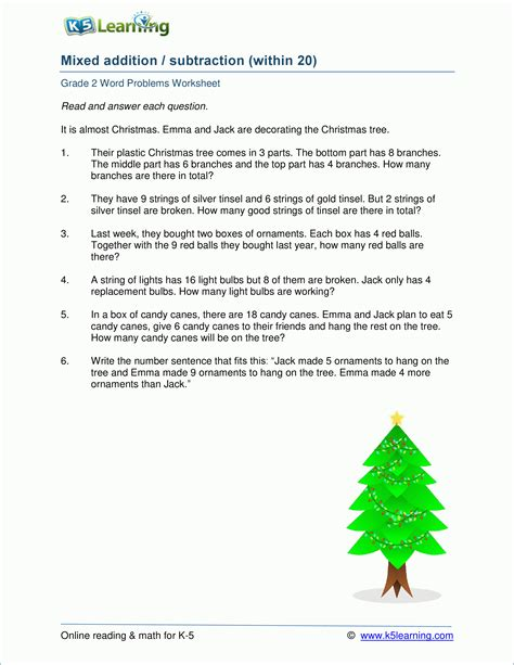 math word problem worksheets k5 learning
