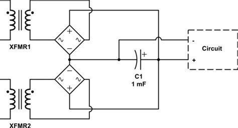 Power Supply Can You Use Rectifiers From Different