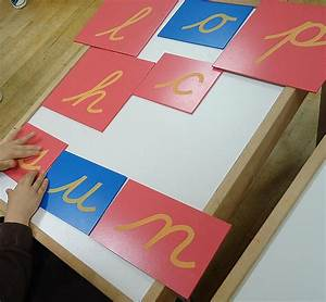 montessori monday inexpensive and diy sandpaper letters With montessori sand letters