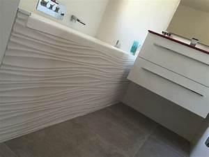 Faience Blanche Salle De Bain : carrelage et faience salle de bain 2 salle de bains ~ Dailycaller-alerts.com Idées de Décoration