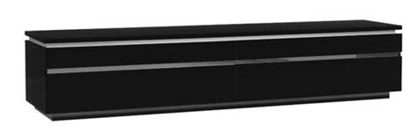 rangement interieur meuble cuisine meuble tv electra laque noir noir brillant