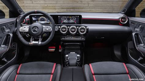 There are differences, but they're pretty subtle. 2020 Mercedes-AMG CLA 45 S 4MATIC+ Shooting Brake - Interior, Cockpit | HD Wallpaper #32