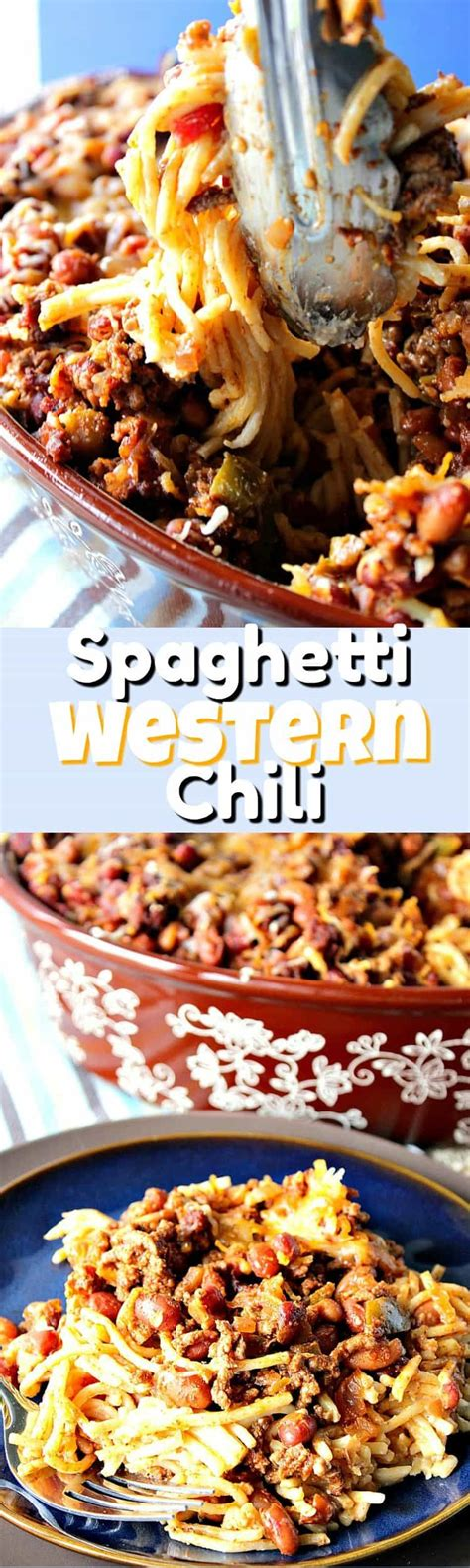 This chili rellenos casserole is very easy to prepare and is loaded with flavor. This Spaghetti Western Chili Casserole is quick to make (30 minutes or less) and can be made in ...