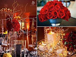 red and gold christmas wedding decorationcherry marry With wedding decoration red and gold