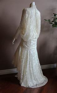 wedding dress 1920s flapper style great gatsby vintage With flapper style wedding dress