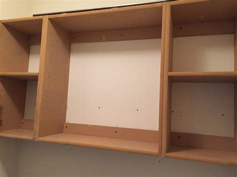build upper cabinets laundry room makeover