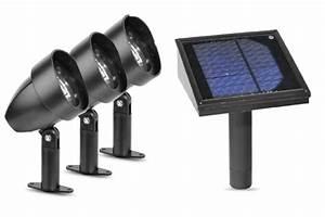 Paradise garden lighting plastic solar spotlight led kit