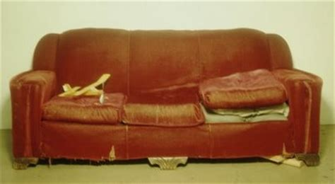or sat on a tatty settee at some friend s the