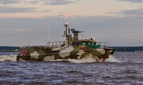 Russian Raptor Boats by Seawaves Magazine Two Fast Patrol Boats Of The New