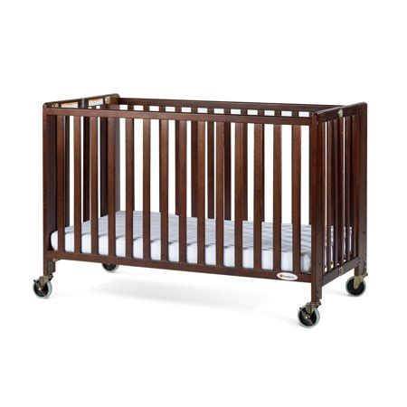 wooden portable crib foundations hideaway size portable wood crib with