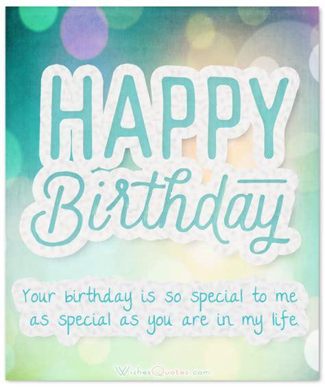 cute birthday wishes   charming boyfriend