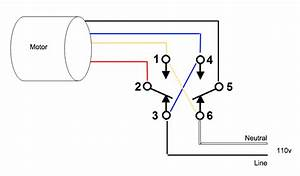 Help Wiring Dpdt Switch To Reverse A 115v Split Phase