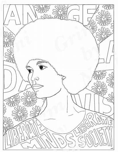 Coloring Pages Sheets Printable History Month Famous