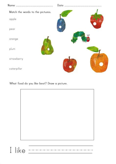 hungry caterpillar primary efl resources
