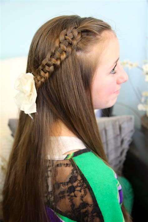 celtic knot braid step  step direction hairdo hairstyle