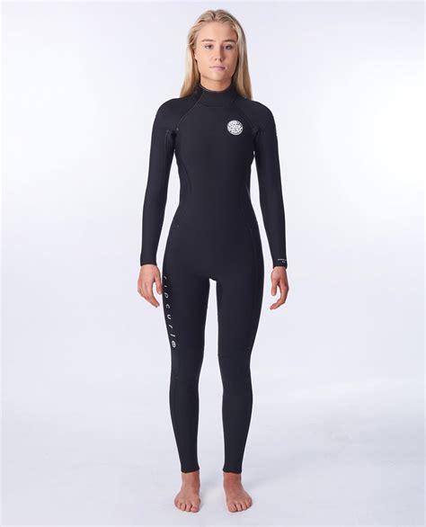 Women Dawn Patrol 4/3 Back Zip Wetsuit   Womens Steamers ...