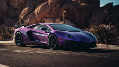 Lamborghini Aventador Sv Coupe 5k Wallpapers