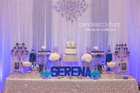 sweet sixteen dessert table candee couture premiere dessert table and sweet table in