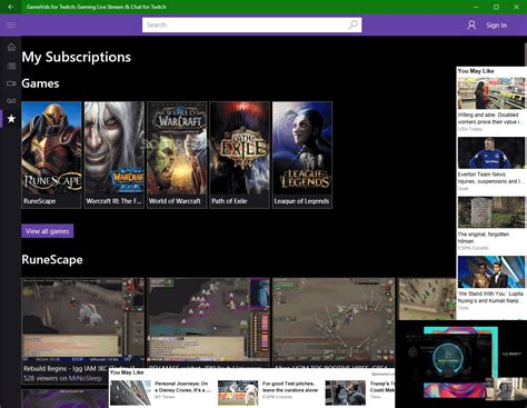 Download Gamevids For Twitch Gaming Live Stream And Chat