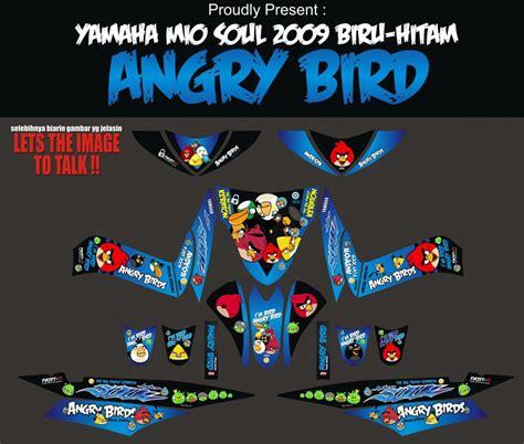 Striping Mio Soul 2008 by Striping Motor Mio Soul Angry Bird Apien Sticker