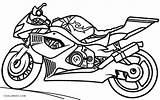 Coloring Motorcycle Motocross Motorbike Printable Bike Wheeler Motor Four Police Sketch Drawing Colouring Sheets Cool2bkids Davidson Harley Adults Getdrawings Getcolorings sketch template