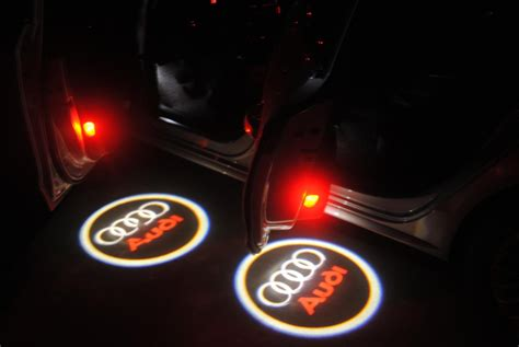 Door Projector Lights by Welcome Light Led Projector Door Shadow Light For Audi 2