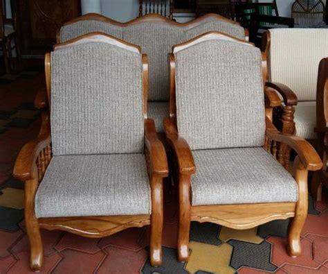 sofa set teak wood  rs  set wooden sofa set id
