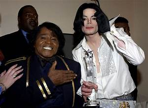 Michael and James Brown BET awards 2003 - Michael Jackson ...